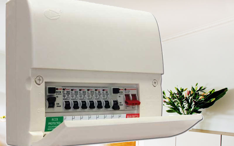 Replace consumer unit