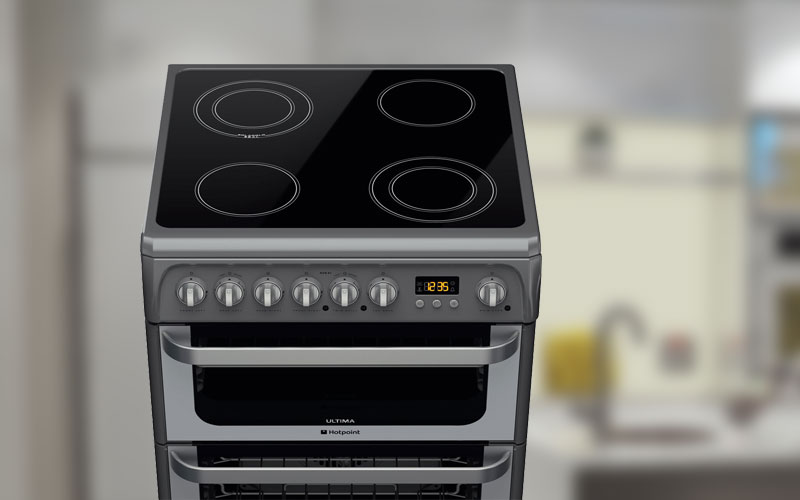 Electric Cooker, oven or hob Installation